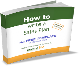 Free Sales Plan Template & eBook
