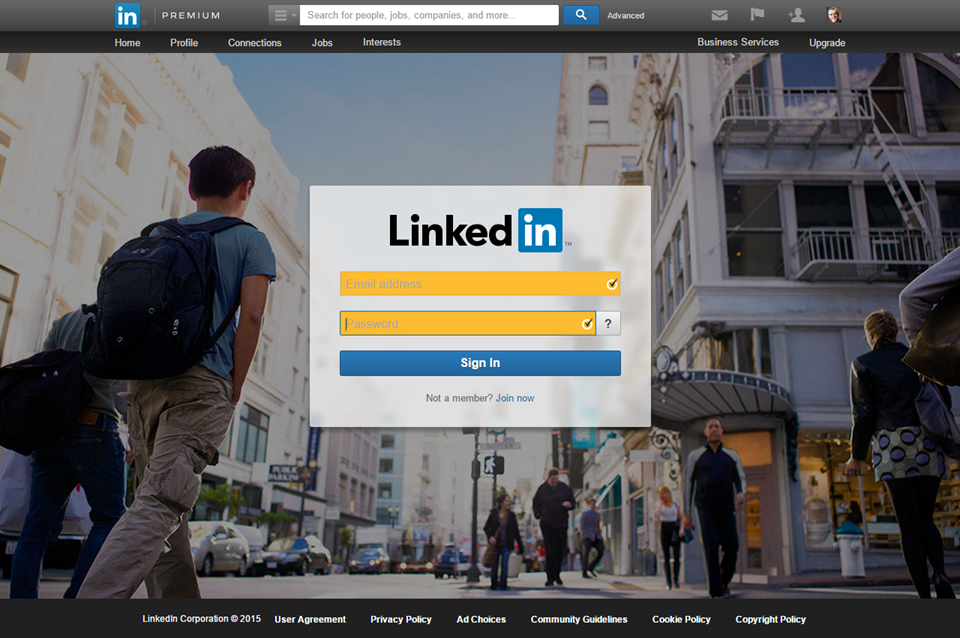 Find contacts in LinkedIn